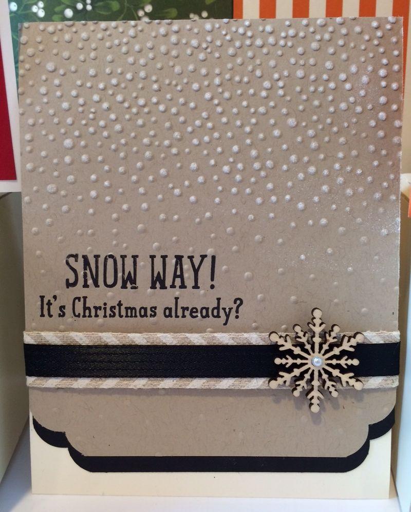Snow Way Card
