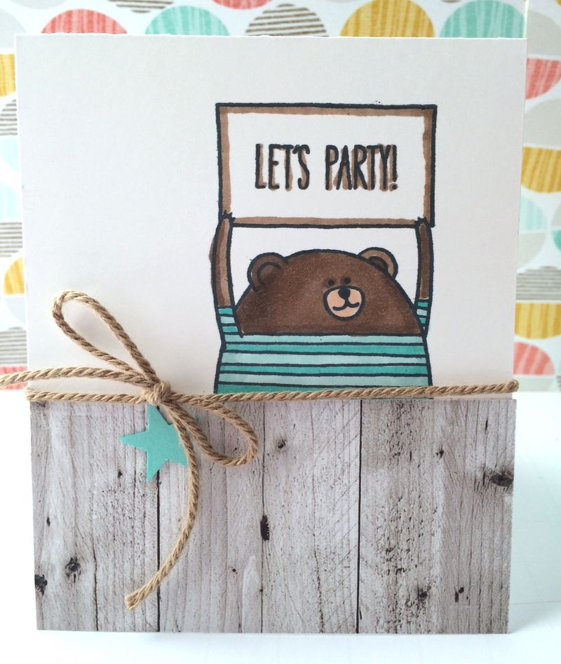 Bear card