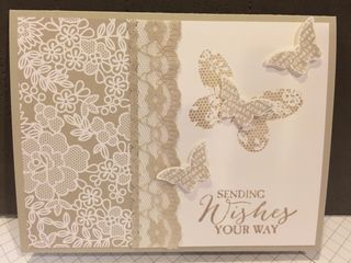 Victorian wishes card